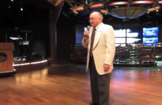 Meet Harold, the best karaoke singer ever