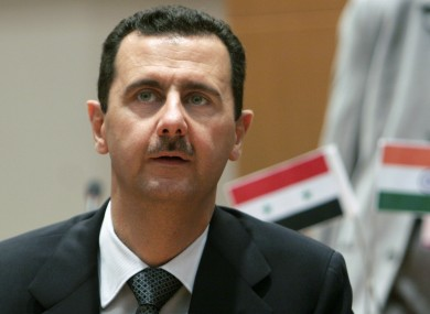 File photo of Syrian President Bashar al-Assad.