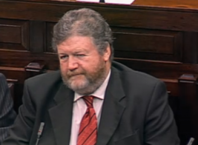 Enda Kenny said political charges against James Reilly were a