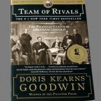 "Hardback copy of ""TEAM OF RIVALS"" signed by author Doris Kearns Goodwin"