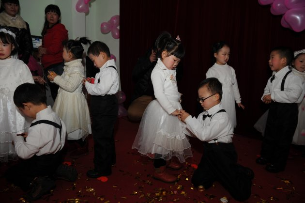 Kindergarten Group Wedding