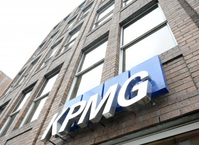 KPMG's offices in St Stephen's Green in Dublin.