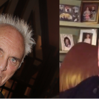 Walsh (pictured right) wrote the books that brought prolonged, worldwide attention to the doping accusations. Terence Stamp is similarly intense (AP Photo: Lionel Cironneau & YouTube screengrab).