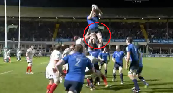 Lineout sacking