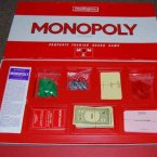 There is no surer way to guarantee a fight than with a game of monopoly. And the Banker is ALWAYS stealing from the bank.