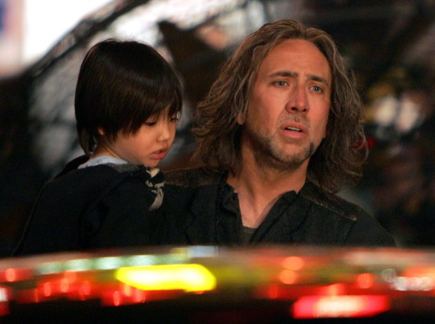 Nicolas Cage on The Sorcerer's Apprentice Set - New York