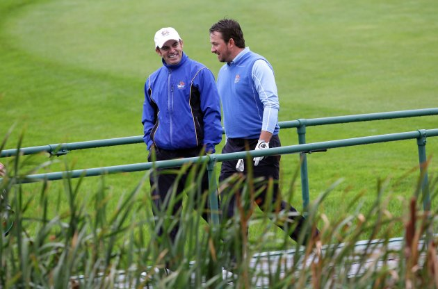 Paul McGinley and Graeme McDowell 29/9/2010