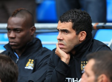 Tevez has revealed he sometimes gives Balotelli advice.
