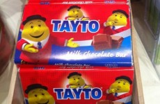 "Mr Tayto: Crisps and chocolate together is ""an Irish tradition"""