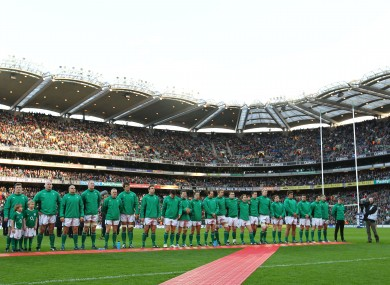 Could the Irish rugby team play in Croke Park?