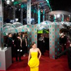 Marion Cotillard made a splash on the red carpet at the BAFTAs