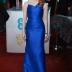 Jessica Chastain is a vision in blue.