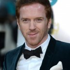 Clare Danes and her cryface weren't at the BAFTAs, so Damien Lewis got all the Homeland glory.