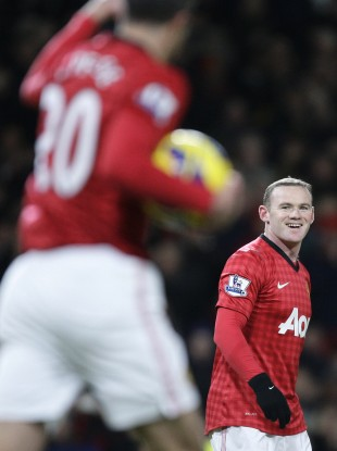 Rooney and Van Persie will look to combine for United once more.