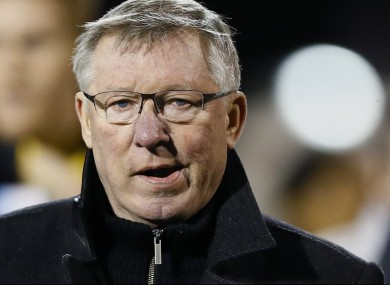 Ferguson's side have earned 62 points from 25 games so far this season.