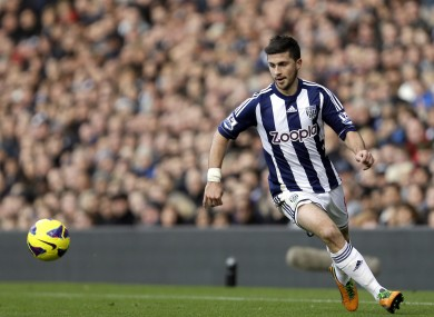 Long has 16 goals in 58 appearances for West Brom.