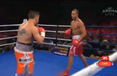 Wallabies star Quade Cooper delivers 1st round K.O on boxing debut