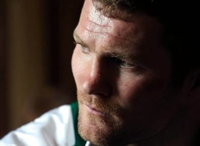 'The world keeps spinning' says Donnacha Ryan.