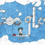Doodle 4 Google finalist Georgina Carpenter from Our Lady'€™s College in Drogheda, Louth.