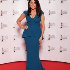 Lisa Cannon arriving on the the red carpet for the 10th Annual Irish Film & Television Awards at the Convention Centre, Dublin.