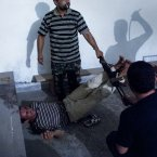 Scenes of interrogation in Aleppo, Syria. (Image: Emin Ozmen)