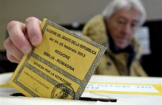 Italian turnout drops in key national election
