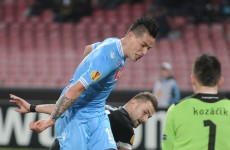 Reports: Napoli's Hamsik robbed at gunpoint