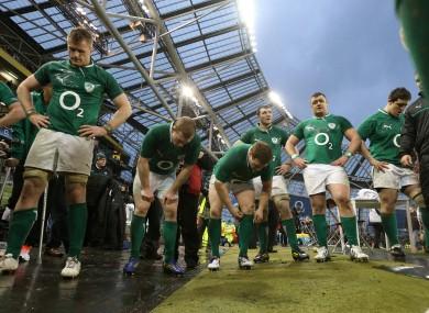 The Irish players reflect on a home loss to England.