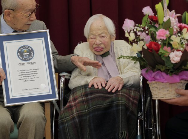 Japan Worlds Oldest Woman