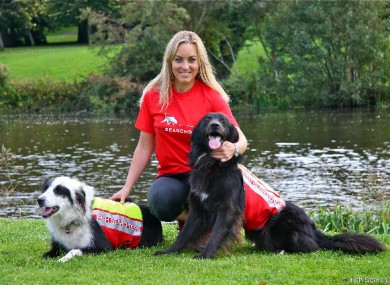 Kathryn Thomas is the new Ambassador for Irish Search Dogs.