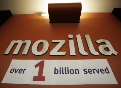This photo was taken in 2009 at Mozilla HQ in California, when the foundation marked its one billionth download of its browser. Now it's looking to smartphones...