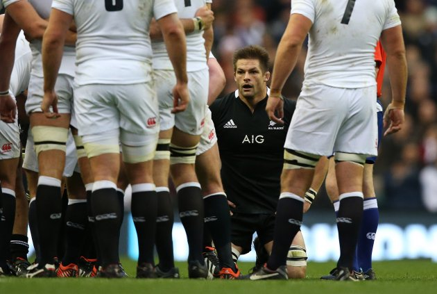 New Zealand's Richie McCaw  1/12/2012