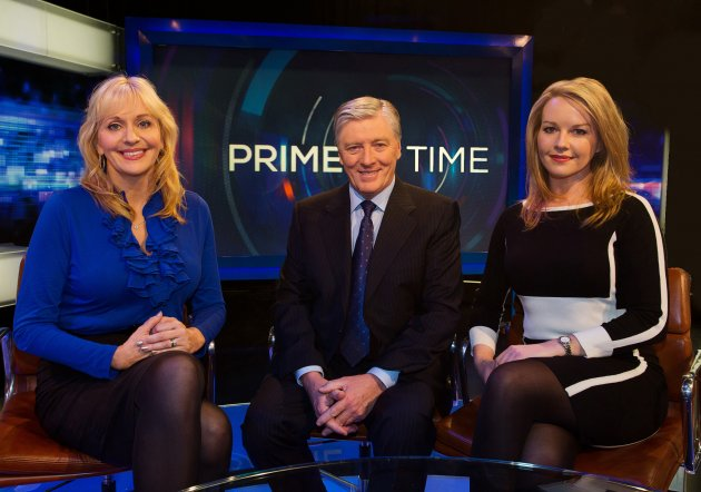 Prime Time Miriam O'Callaghan Pat Kenny and Claire Byrne