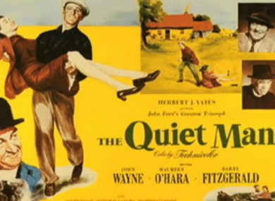 The Quiet Man film poster 