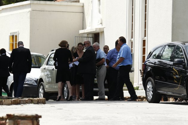 Reeva Steenkamp Funeral