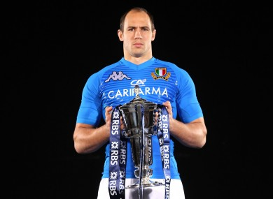 Italy face being without talismanic captain Sergio Parisse.