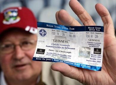 The All-Ireland Hurling Championship was headline-sponsored by Guinness for 13 years.