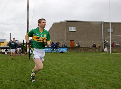 Back In Action: Kerry defender Tomás Ó Sé