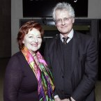 (L-R) Sean Rainbird, Director of the National Gallery of Ireland with Dr Olive Braiden, Chair of the Board of Governors & Guardians, NGI,  at the opening of the exhibition