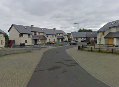 The Ardmore Walk area outside Tallaght, where yesterday's incident occurred.