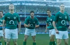 Curse of the O2 Irish Rugby advert