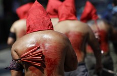 VIDEO: Men crucified in Philippines' annual Easter rituals