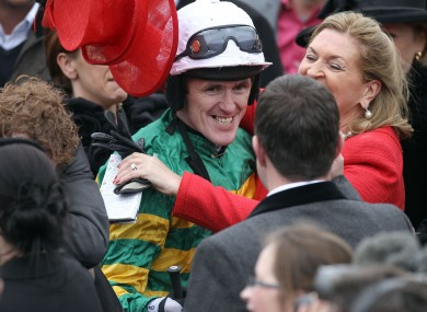 AP McCoy: will he get a chance to win back-to-back Gold Cups on Sir des Champs.