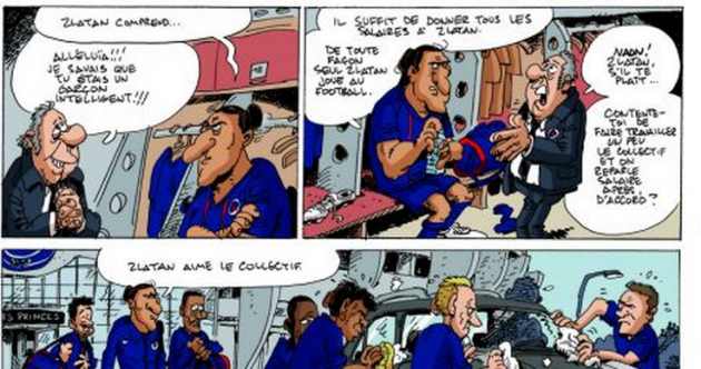 Holy bicycle kicks! Zlatan gets his very own comic strip