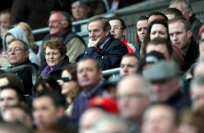 Your Taoiseach Watching The GAA Pic Of The Day