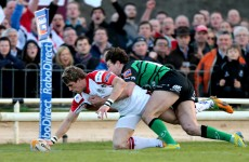 Pro12 report: Ulster maintain pace at summit with bonus point in Connacht