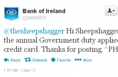 Did Bank of Ireland just say 'Hi Sheepshagger'?