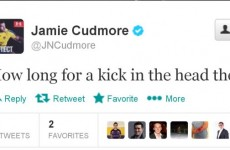 Clermont's Jamie Cudmore seems less than pleased by Paul O'Connell's non-citing