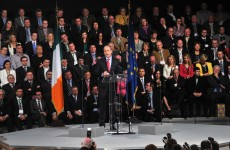 As it happened: Micheál Martin's keynote speech at the Fianna Fáil Ard Fheis