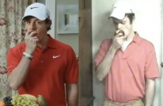 Rory McIlroy's 'leaked audition tape' for that creaky Santander ad is terrifying and hilarious